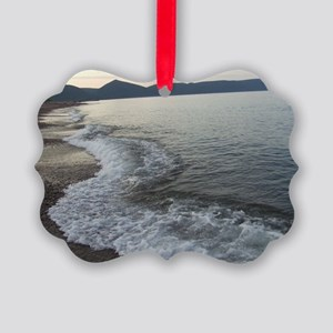 Peace At Dusk Dingwall Cape Breto Picture Ornament