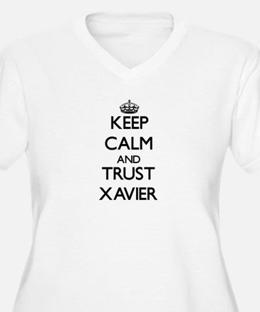 Keep Calm and TRUST Xavier Plus Size T-Shirt