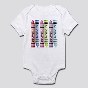 Six Crayons Infant Bodysuit