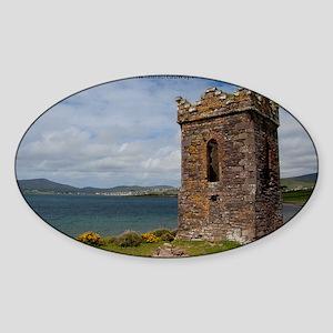 Dingle Tower Sticker (Oval)