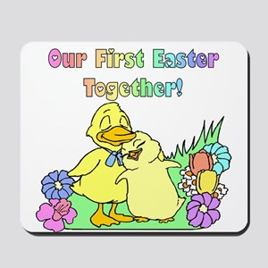 Our First Easter Mousepad