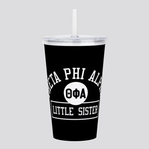 Theta Phi Alpha Little Acrylic Double-wall Tumbler