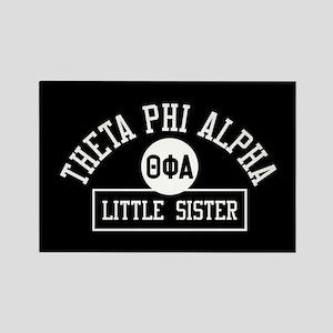 Theta Phi Alpha Little Sister Rectangle Magnet