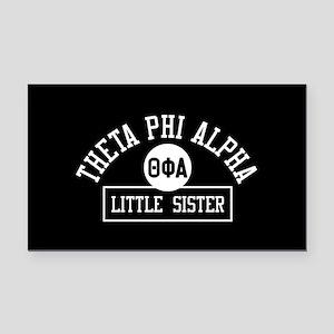 Theta Phi Alpha Little Sister Rectangle Car Magnet