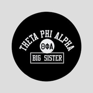 "Theta Phi Alpha Big Sister 3.5"" Button"