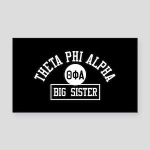 Theta Phi Alpha Big Sister Rectangle Car Magnet