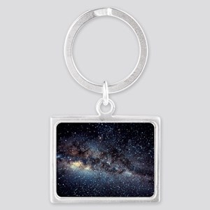 Optical image of the Milky Way  Landscape Keychain