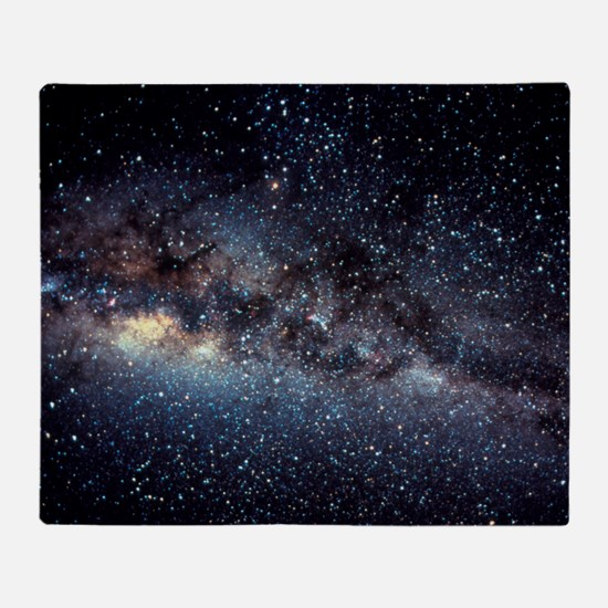 Optical image of the Milky Way in th Throw Blanket