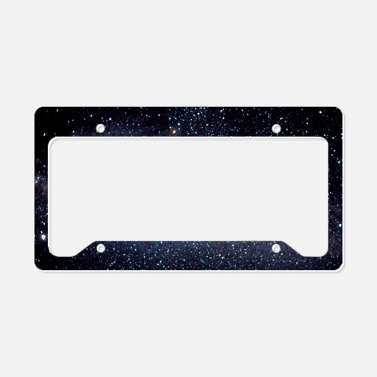 Optical image of the Milky Wa License Plate Holder