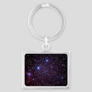 Orion's Belt Landscape Keychain