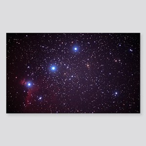 Orion's Belt Sticker (Rectangle)
