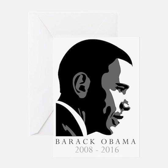 Barack Obama - 2008/2016 Greeting Card