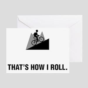 Mountain-Biking-ABG1 Greeting Card