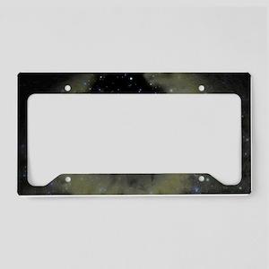 Planetary nebula License Plate Holder