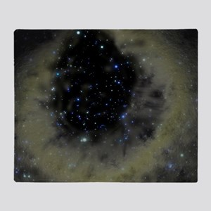 Planetary nebula Throw Blanket