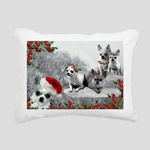 FINAL FINAL snow Rectangular Canvas Pillow