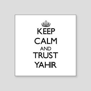 Keep Calm and TRUST Yahir Sticker