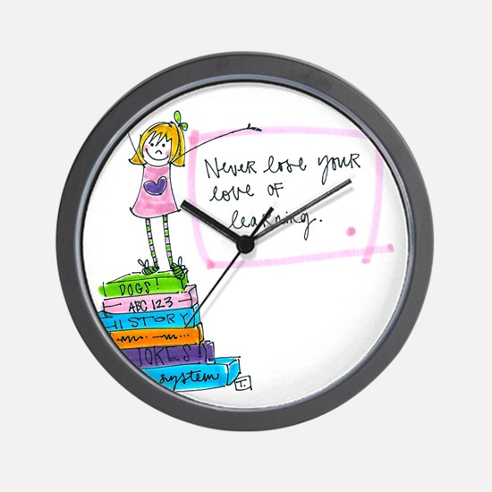 Good For Your Brain Wall Clock
