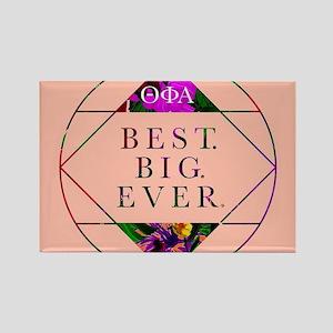 Theta Phi Alpha Best Big Rectangle Magnet