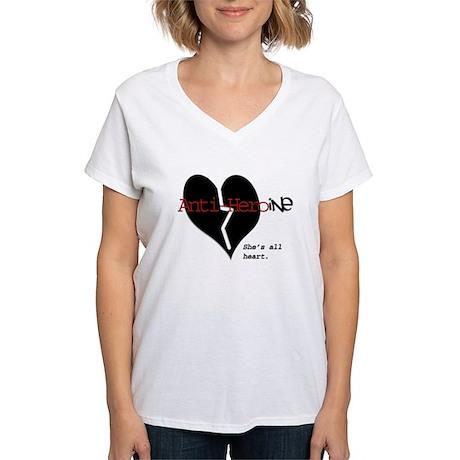 Anti-Heroine Women's V-Neck T-Shirt