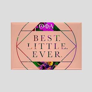 Theta Phi Alpha Best Little Rectangle Magnet