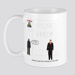 The Writing on the Wall Mug