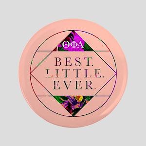 """Theta Phi Alpha Best Little 3.5"""" Button"""