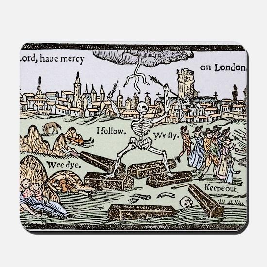 Plague in London, 1625 Mousepad