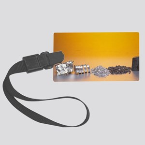 Group 2 metals Large Luggage Tag