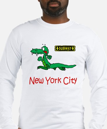 """""""CLICK HERE FOR NYC ALLIGATOR Long Sleeve T-Shirt"""