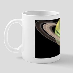 Saturn and its rings Mug