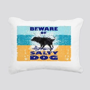 Salty Dog Notes Rectangular Canvas Pillow