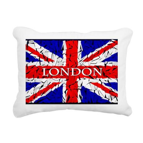London - Union Jack (gla Rectangular Canvas Pillow