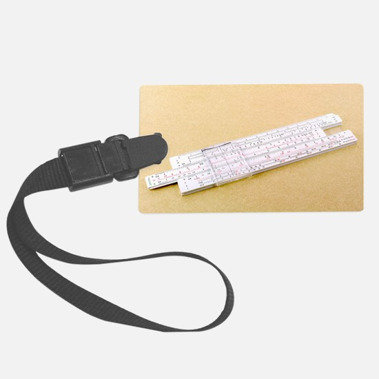 Logarithmic slide rule Luggage Tag