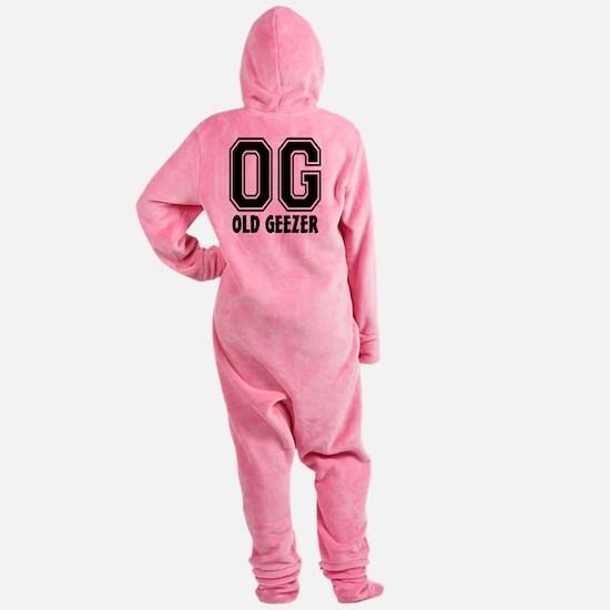 OG - Old Geezer Footed Pajamas