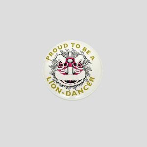 Hok San Lion Dance Mini Button