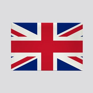 Union Jack Rectangle Magnet