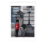 Andy drops his camera Postcards (Package of 8)