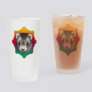 Ferret Sable Drinking Glass