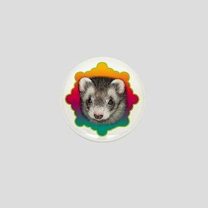 Ferret Sable Mini Button