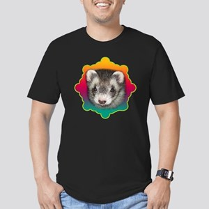 Ferret Sable Men's Fitted T-Shirt (dark)