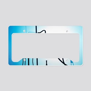 Organic synthesis License Plate Holder