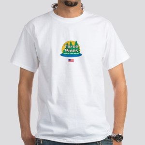 Three Pines International Logo White T-Shirt
