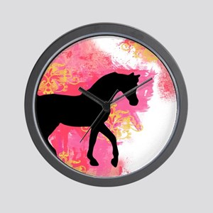 Arabian Horse Wall Clock