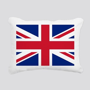 Union Jack Rectangular Canvas Pillow