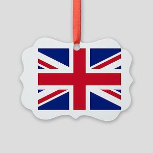 Union Jack Picture Ornament