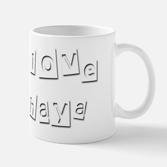 I Love Chaya Mug