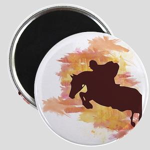 Horse Jumper Magnet
