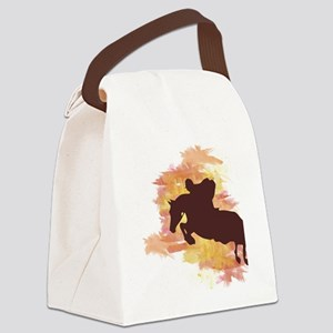 Horse Jumper Canvas Lunch Bag