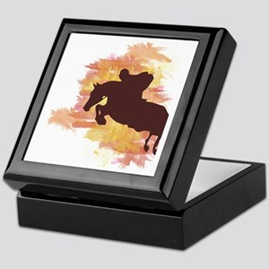 Horse Jumper Keepsake Box